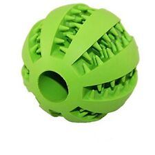 Dog Toy Ball Non-Toxic Bite Resistant Bouncy Rubber Chew Toy for Teeth Cleaning
