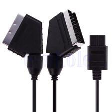 A/V TV Video Scart RGB Kabel für Nintendo SNES Gamecube N64 PAL Konsole GE