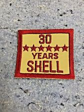 SHELL OIL GAS EMPLOYEE YEARS OF SERVICE PATCH NOS EMBLEM'S 30 Years Service