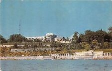 B46809 Sochi a view of the Primorsky Hotel 14x7 cm russia