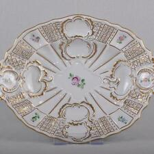 Meissen Scattered flowers & gold, Ceremonial Bowl / Bowl, First Quality, 30,5 cm