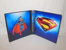 Custom Made Superman Trading Card Album Binder Graphics Only