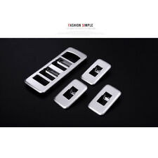 Car Chorme  Inner Door Window Switch Cover Trim For Range Rover Sport 2014-2017