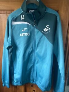 Swansea City Tracksuit Top, Joma, Mens Small, Great Condition, Blue