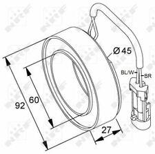 A/C Compressor Clutch Part 38420 NRF 1618329 1854272 9118281 93181006 Quality