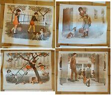 23 Anciennes affiches scolaires edition  MDI des années 70