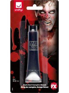 Vampire Blood Dark Red Kids Adults Fake Blood Halloween Fancy Dress 28ML