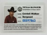 Walker Texas Ranger TV Series ID Badge-Cordell Walker  Hat Cosplay prop costume