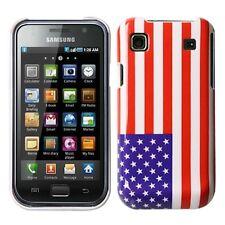 Custodia per Samsung Galaxy S i9000 i9001 PLUS Case Borsa Protezione USA bandiera AMERICA