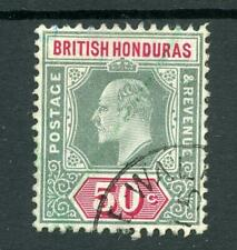 British Honduras 1904-07 50c SG90 FU cat £110