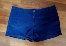 TARGET COLLECTION Women's Navy Blue Shorts With Pockets Stretch SIZE 18