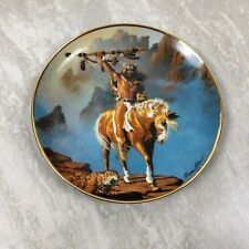 Western Heritage Museum Spirit of The South Wind Plate The Franklin Mint