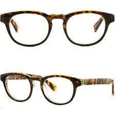 Thick Mens Womens Acetate Frame Prescription Glasses RX Sunglasses Tortoiseshell