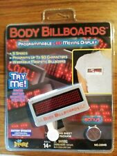 IMPERIAL BODY BILLBOARDS - PROGRAMMABLE LED MOVING DISPLAY.  50 CHARACTERS