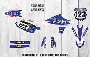 Yamaha YZF450 2010 2011 2012 Factory MX GRAPHICS KIT. Customisable Motocross