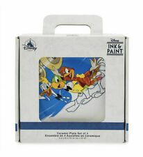 Disney Ink Paint Ceramic Plate Set