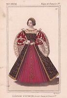 Eléonore de Habsbourg d'Autriche Espagne Reine de France François Ier