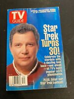 TV Guide Star Trek Turns 30 August 24-30 1996 Issue Special Collectors Series #1