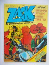 Zack Nr. 12 (1977) - mit Beilage - Koralle Verlag - Zustand 1-