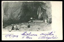 Channel Islands JERSEY Devil's Hole 1902 u/b PPC fine sqaured pmk