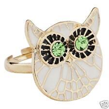 Anello smaltato Gufo ♥ Owl Ring
