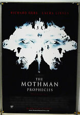 THE MOTHMAN PROPHECIES DS ROLLED ORIG 1SH MOVIE POSTER RICHARD GERE HORROR(2002)