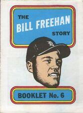 TOPPS BASEBALL MINI COMIC BOOKLET 1970 6 BILL FREEHAN