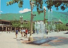 "*POSTCARD-""The Fountain"" Hyman Street Mall ...Aspen, Colorado (#873)"