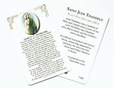 ST SAINT JUDE Prayer Card - Credit Card Size