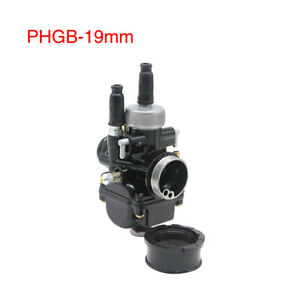 Dellorto PHBG DS Racing 19mm Carburetor 2 Stroke 50-100cc Engine For Scooter
