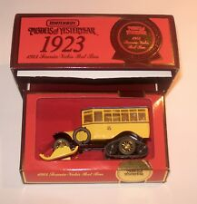 MATCHBOX YESTERYEAR Y16 1923 SCANIA-VABIS POST BUS SPECIAL EDITION MIB