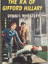 THE KA OF GIFFORD HILLARY - DENNIS WHEATLEY (UK BOOK CLUB HARDBACK)