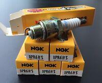 6x NGK Zündkerzen BPR6HS (Satz), Opel Omega, 2.4, 2.6, 3.0, 6 Zylinder, neu