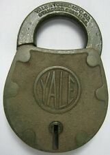 Antique Brass Lock Yale & Towne Stanford, CT