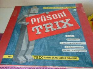 Trix Präsent - Modell Nr. 905 Metallbaukasten - 1960-er Jahre