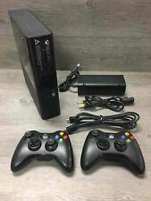 Microsoft Xbox 360 E Bundle w Two Controllers