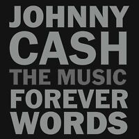 JOHNNY CASH: FOREVER WORDS  2 VINYL LP NEW!