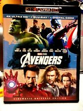 MARVELS THE AVENGERS (4K  + BLU-RAY)