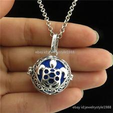 Glow In The Dark Sea Ocean Turtle Animal Perfume Oils Locket Necklace