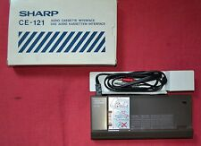 Interfaccia Sharp CE-121 Audio cassette interface calculator, boxed, vintage