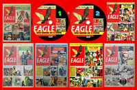Eagle Comics Series 1 (v1 - v6) inc Annuals 326 On Two PC DVD Rom's (CBR FORMAT)