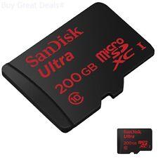 SanDisk Ultra 200GB Micro SD SDSDQUAN-200G-G4A Standard Packaging SanDisk