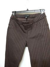 NEW Sanctuary Plaid,Check Brown/Black Leggings,Pants US Women's Size S
