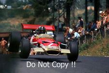 Graham Hill Gold Leaf Team Lotus 49B German Grand Prix 1968 Photograph 2