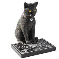 BLACK CAT Wiccan Wicca Witch Craft Wizardry OUIJA BOARD Figurine NEW in BOX ❤️m9