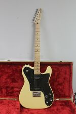 Excellent! - Squire by Fender Telecaster Custom Cream White Duncan Pickups
