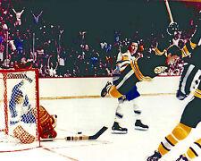 Bobby Orr - The Goal, 8x10 color photo