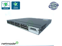 NEW Cisco WS-C3750X-48PF-S Gig POE Switch IP Base 1100W AC 3750X • 1YR WARRANTY