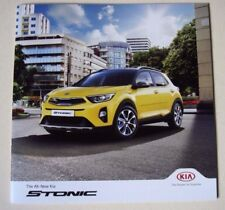 Kia . Stonic . Kia Stonic . October 2017 Sales Brochure