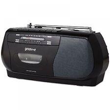 groov-e GVPS575BK Portable Cassette Player